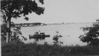 Tugboat, Saco River, ca. 1910