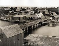 Toll Bridge, Thomaston, 1870
