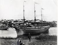 Ship Frank F. Curling, Thomaston, 1878