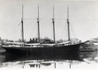 Schooner Henry J. Smith, Thomaston, 1890