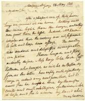 Henry Knox to M Hays, 24 May 1801
