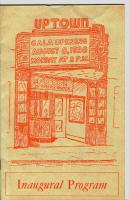 1938 Inaugural Program, Uptown Theatre, Bath