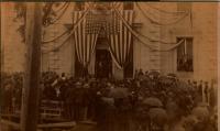 President Harrison, Bath, 1889