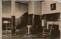 Reception Lobby of Y.M.C.A., Columbian Block, Bath, 1916
