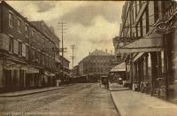 Front Street postcard, Bath, ca. 1907
