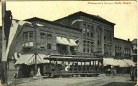 Thompson's Corner, Bath, ca. 1909