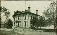 Post Office & Custom House, Bath, ca. 1901