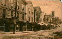 Center Street Postcard, Bath, ca. 1914