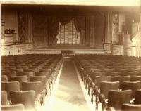 Bath Opera House stage, 1926