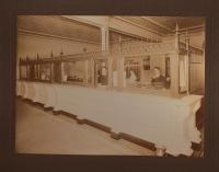 Interior First National Bank, Bath, ca. 1904