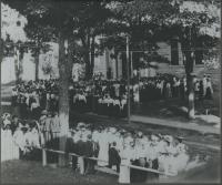 Cutler Memorial Library dedication, Farmington, 1903