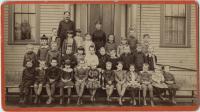 Students and Teachers at Farmington Model School, 1884