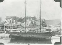 The schooner Victory, Hampden, ca. 1898