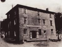 Crosby's Grist Mill Store also calle Old Brick Store, Hampden, built in 1807