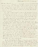 G.W. Pierce to parents, Washington, D.C., 1828