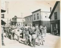 Water Street, Lubec, ca. 1960