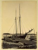 Schooner Charles E. Sears, Lubec, ca. 1900