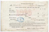 Patrick Kerr tax bill, 1866