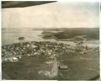 Aerial view, Lubec, ca. 1963