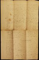 Universalist Church construction contract, Bath, 1839