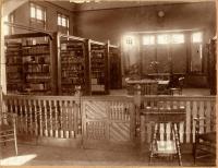 Patten Free Library Interior, ca.1891
