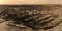 Bath Iron Works and yachts, Bath, 1931
