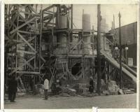 Construction of Davenport Memorial City Hall, Bath, 1928
