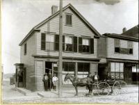 Site of future Bath City Hall, ca. 1896