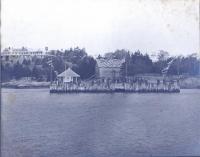 Dark Harbor Wharf, Islesboro, 1917