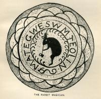 The Rabbit Magician, ca. 1884