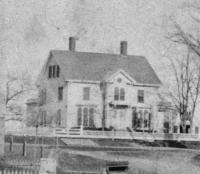 Warden Joel Miller House, Main Street, Thomaston, Maine c 1870
