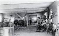 Paint Shop, State Prison, Thomaston, Maine c 1900