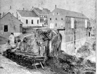 Quarry, State Prison, Thomaston, Maine c 1870