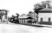 Railroad Depot, Thomaston, Maine c 1871