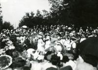 Dorcas Society Fair, Buxton, 1912