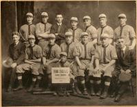 Amateur champion baseball team, Evening Stars, Biddeford-Saco, 1919