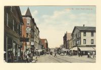 Lisbon Street, Lewiston, ca. 1910