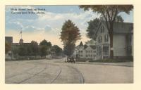 Main Street, Looking South, Cumberland Mills, ca. 1915