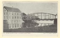 Bridge and Mill Pond, Yarmouth Lower Falls, ca. 1903