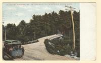 Falmouth Foreside, on the road to Underwood Spring Park, ca. 1910