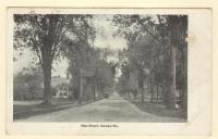 Main Street, Gorham, ca. 1910