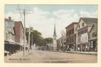 Main Street in Westbrook, ca. 1910