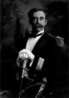 Rear Admiral Robert E. Peary in dress uniform, ca. 1910