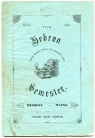 The Hebron Semester, 1881