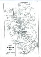 Map of Farmington, 1910