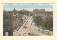 Congress St. Looking west from Congress Square, Portland, ca. 1910