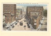Congress Street from Congress Square, Portland, ca. 1915