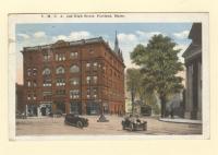 Y. M. C. A. and High Street, Portland, 1921