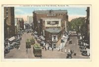 Junction of Congress and Free Streets, Portland, ca. 1925