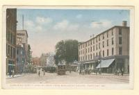 Congress Street looking West from Monument Square, Portland, ca. 1918